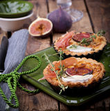 Pie with figs Stock Images