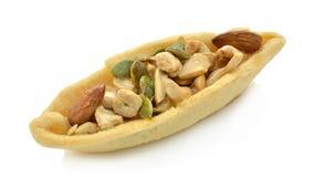 Pie grains stock image