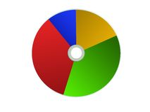 Pie Graph Royalty Free Stock Photography