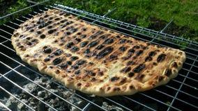 Pie grill Stock Photo