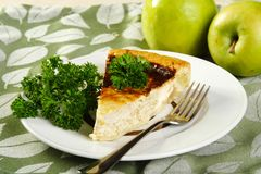 Pie with a hen Royalty Free Stock Photo