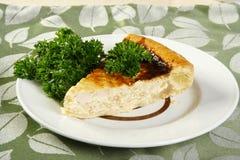 Pie with a hen Stock Photos