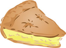 Pie illustration Royalty Free Stock Image