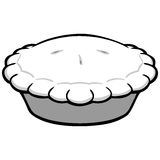 Pie Illustration Stock Photo