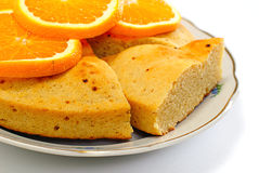 Pie isolated on white background Stock Image