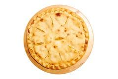 Pie isolated on white Stock Photos