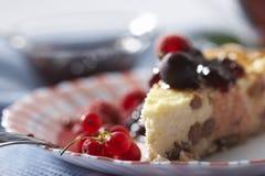 Pie with jam Stock Photo