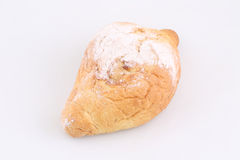 Pie with jam strewed by powdered sugar Royalty Free Stock Image