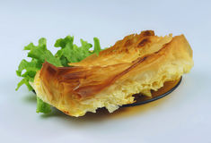 Pie. Made with pastry, cheese and eggs Stock Photography
