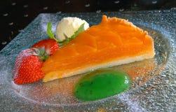 Pie from a mango Stock Photos