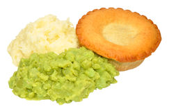 Pie And Mash Royalty Free Stock Photos