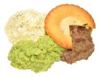 Pie And Mash Stock Photo