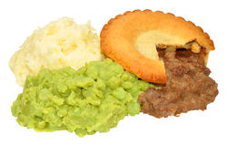 Pie And Mash Stock Photos