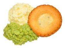 Pie And Mash Stock Image
