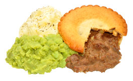 Pie And Mash Royalty Free Stock Images