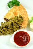 Pie With Peas Stock Image