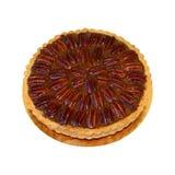 Pie pecan Stock Photo