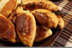 Pie (Pierogi, pirogi) stock photography