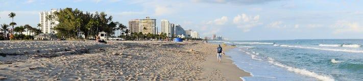 Pie Playa del pie Lauderdale Imagen de archivo