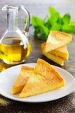 Pie of polenta Stock Image
