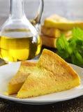 Pie of polenta Stock Photo
