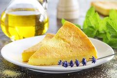 Pie of polenta Stock Photography