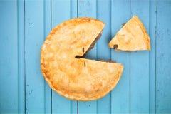 Pie Portions Stock Photo