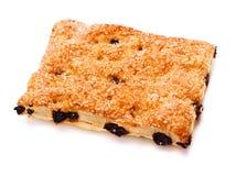 Pie With Raisins Royalty Free Stock Photo