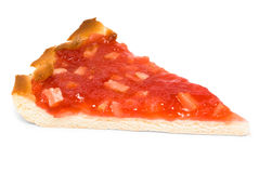 Pie with strawberry jam Stock Photo