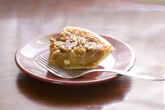 Pie on table Stock Image