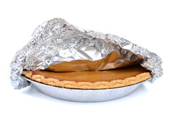 Pie In Tin Stock Photography