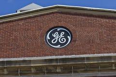 Pie Wayne, ADENTRO - circa julio de 2016: Fábrica de General Electric GE es world's Digital Company Industrial IX imagen de archivo