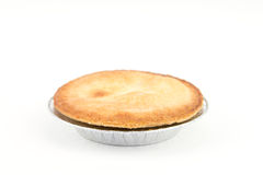 Pie with White Backgorund. Pie of Wine Isolated on White Background royalty free stock image