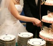 piebröllop Arkivbilder