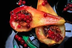 Piec bonkreta z cranberries Fotografia Stock
