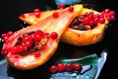 Piec bonkreta z cranberries Zdjęcia Royalty Free