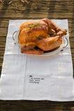 Piec cały kurczak, indyk/ Zdjęcie Stock