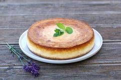 Piec cheesecake Zdjęcie Royalty Free