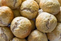 Piec chleba i babeczek piekarnia Fotografia Royalty Free