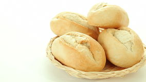 piec chlebowe świeże rolki zdjęcie wideo