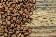 Piec coffeebeans Zdjęcia Royalty Free