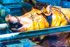 Piec grill świnia Zdjęcia Stock