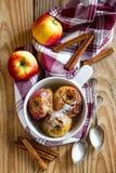 Piec jabłka Obrazy Stock
