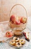 Piec jabłka -6 fotografia stock