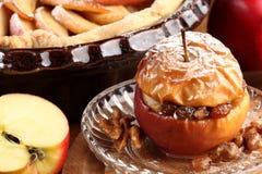 Piec jabłko Fotografia Royalty Free