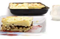 Piec kartoflany pudding Fotografia Stock