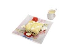 Piec kartoflany pudding Obraz Royalty Free