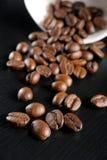 Piec kawowe fasole obrazy stock