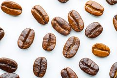 Piec kawowe fasole Zdjęcia Stock