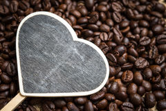 Piec kawowe fasole, mogą jest używać jako tło Fotografia Stock